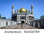 jame'asr hassanil bolkiah... | Shutterstock . vector #502420789