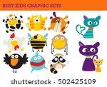 animal illustrations for fun | Shutterstock .eps vector #502425109