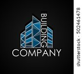 building company logotype. real ...   Shutterstock .eps vector #502461478