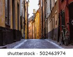 Gamla Stan. Stockholm  Sweden....