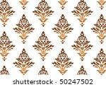 decorative wallpaper design in... | Shutterstock .eps vector #50247502