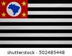 brazilian state of sao paulo... | Shutterstock . vector #502485448