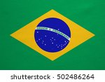 brazilian national official... | Shutterstock . vector #502486264