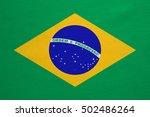 brazilian national official... | Shutterstock . vector #502486264