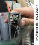 mashine accident. | Shutterstock . vector #502520644