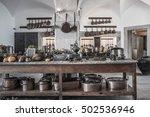 kitchen copper utensil  ... | Shutterstock . vector #502536946