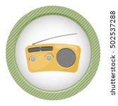 radio colorful icon