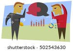 business discussions abstract | Shutterstock .eps vector #502543630
