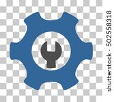 cobalt and gray service tools... | Shutterstock .eps vector #502558318
