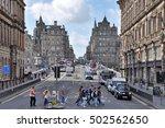 edingburgh  great britain  ... | Shutterstock . vector #502562650