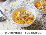 Pumpkin Risotto With Herbs And...