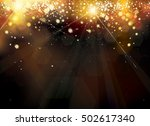 vector abstract sparkle ... | Shutterstock .eps vector #502617340