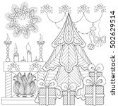 Patterned Christmas Home...