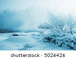 Beautiful winter - stock photo