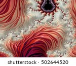 abstract fractal background | Shutterstock . vector #502644520
