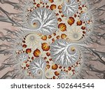 abstract fractal background | Shutterstock . vector #502644544