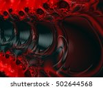 abstract fractal background | Shutterstock . vector #502644568