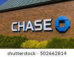 Small photo of Indianapolis - Circa October 2016: Chase Bank. Chase is the U.S. Consumer and Commercial Banking Business of JPMorgan Chase V