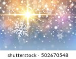 christmas background with... | Shutterstock .eps vector #502670548