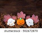 funny gingerbread cookies for... | Shutterstock . vector #502672870