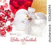 feliz navidad. new year...   Shutterstock . vector #502683094