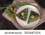 top view of persian mixed herbs ... | Shutterstock . vector #502687324