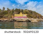 the buddha statue is about 5... | Shutterstock . vector #502693120