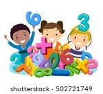 stickman illustration of... | Shutterstock .eps vector #502721749