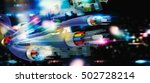 connection with the optical... | Shutterstock . vector #502728214
