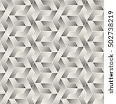 vector seamless black and white ... | Shutterstock .eps vector #502738219