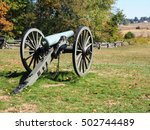 Old Cannon Sits On The...