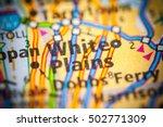 white plains. new york  state . ... | Shutterstock . vector #502771309