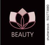 lotus flower logo.   Shutterstock .eps vector #502773880