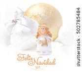 feliz navidad. new year...   Shutterstock . vector #502785484