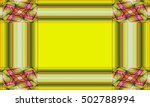 picture frame abstract... | Shutterstock . vector #502788994