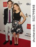 Small photo of LOS ANGELES - OCT 21: Hayden Byerly, Alyssa Jirrels at the 2016 GLSEN Respect Awards at Beverly Wilshire Hotel on October 21, 2016 in Beverly Hills, CA