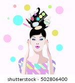 abstract vector draw of...   Shutterstock .eps vector #502806400