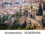the casas colgadas  hanged... | Shutterstock . vector #502850434