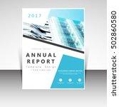 business annual report brochure ... | Shutterstock .eps vector #502860580
