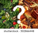 nutrition confusion idea and... | Shutterstock . vector #502866448
