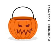 Pumpkin Basket Empty For...
