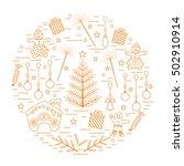 vector illustration of... | Shutterstock .eps vector #502910914
