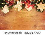 family holiday  christmas tree... | Shutterstock . vector #502917700