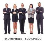 full length portrait of... | Shutterstock . vector #502924870
