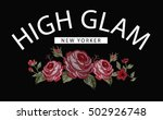 slogan graphic for t shirt   Shutterstock .eps vector #502926748