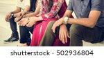 indian ethnicity community... | Shutterstock . vector #502936804