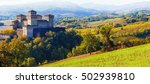 beautiful castles of italy  ... | Shutterstock . vector #502939810