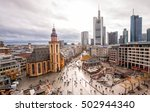 frankfurt  germany   nov. 2 ... | Shutterstock . vector #502944340