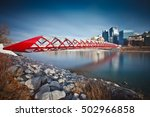 afternoon photo of the calgary... | Shutterstock . vector #502966858