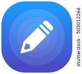 pencil purple   blue circular...
